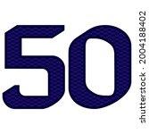number 50 vector illustration....   Shutterstock .eps vector #2004188402