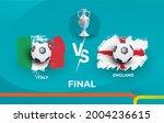 final of the football...   Shutterstock .eps vector #2004236615