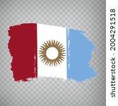 flag cordoba province brush...