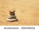 concept of balance and harmony. ... | Shutterstock . vector #200430026