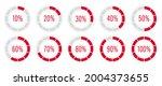 progress load set loader....   Shutterstock .eps vector #2004373655