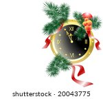 the image of decorated new year'... | Shutterstock .eps vector #20043775