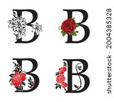 collection of letters b with... | Shutterstock .eps vector #2004385328