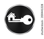 real estate icon   vector...
