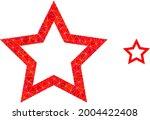 triangle contour star polygonal ...   Shutterstock .eps vector #2004422408