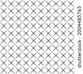 black diagonal lines overlapped ...   Shutterstock .eps vector #2004485765