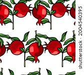 vector seamless pattern with... | Shutterstock .eps vector #2004540395
