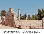 ancient ruins of colonnaded...   Shutterstock . vector #2004611612