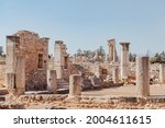 ancient ruins of colonnaded...   Shutterstock . vector #2004611615
