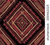 tribal vintage ethnic seamless... | Shutterstock .eps vector #200462225