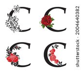 collection of letters c with... | Shutterstock .eps vector #2004640382