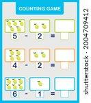 summer math addition activity... | Shutterstock .eps vector #2004709412