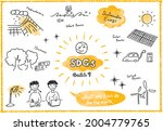 sustainable development goals... | Shutterstock .eps vector #2004779765