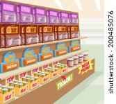 supermarket | Shutterstock .eps vector #200485076
