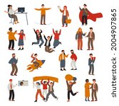 soft skills concept. a large... | Shutterstock . vector #2004907865