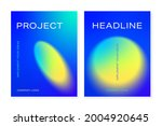 cover templates with blurred... | Shutterstock .eps vector #2004920645