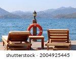 Sea Resort  Two Wooden Deck...