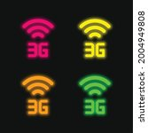 3g four color glowing neon...