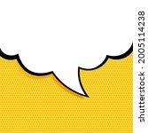 speech bubble in pop art style. ...   Shutterstock .eps vector #2005114238