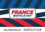 bastille day in france.... | Shutterstock .eps vector #2005127228