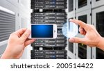 smart phone and digital graph | Shutterstock . vector #200514422