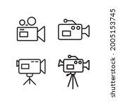 video camera recorder icon...