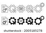 set of customisation vector...   Shutterstock .eps vector #2005185278