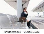 caucasian businessperson... | Shutterstock . vector #200532632