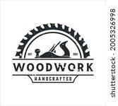 retro vintage  woodwork...   Shutterstock .eps vector #2005326998