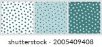 seamless pattern with small... | Shutterstock .eps vector #2005409408