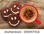 good morning or have a nice day ... | Shutterstock . vector #200547416
