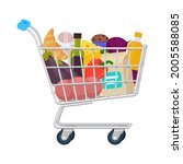 cart  shopping bag  shopping... | Shutterstock .eps vector #2005588085