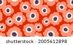 stylish seamless pattern with... | Shutterstock .eps vector #2005612898