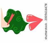 breath design concept. open...   Shutterstock .eps vector #2005616678