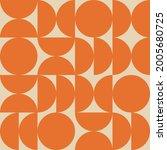 seamless geometric pattern in... | Shutterstock .eps vector #2005680725