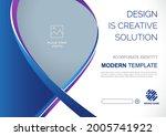 template vector design for... | Shutterstock .eps vector #2005741922