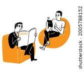 communication business concept  ... | Shutterstock .eps vector #2005788152