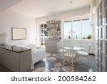 villa interiors | Shutterstock . vector #200584262