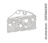 continuous one line drawing...   Shutterstock .eps vector #2005860305