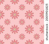 seamless repeat pattern for... | Shutterstock .eps vector #2005901825