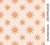 seamless repeat pattern for... | Shutterstock .eps vector #2005901828