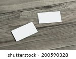 blank corporate identity... | Shutterstock . vector #200590328