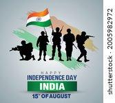 happy independence day. vector... | Shutterstock .eps vector #2005982972