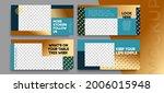 sale banner layout design. set...   Shutterstock .eps vector #2006015948