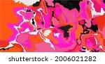 acid vivid digital psychedelic... | Shutterstock .eps vector #2006021282
