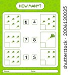 how many counting game with... | Shutterstock .eps vector #2006130035