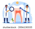 Dental Services Concept....