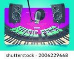 music fest banner. invitation...   Shutterstock .eps vector #2006229668