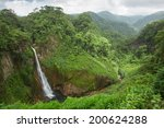 waterfall in juan castro blanco ... | Shutterstock . vector #200624288