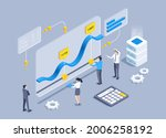 isometric vector illustration... | Shutterstock .eps vector #2006258192
